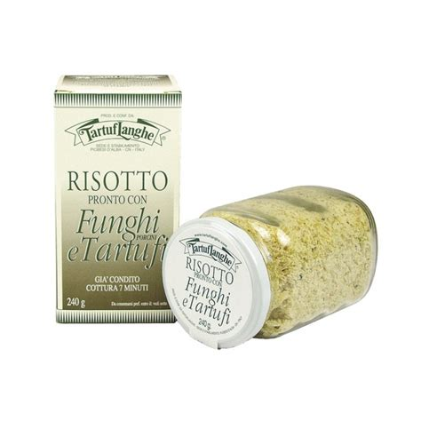 Tartuflanghe Summer Truffle 99 Truffle Puree ready risotto with porcini mushrooms and truffle