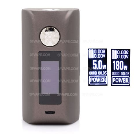 Authentic Mod Asmodus Minikin 2 authentic asmodus minikin 2 180w brown 1 0 quot touch screen
