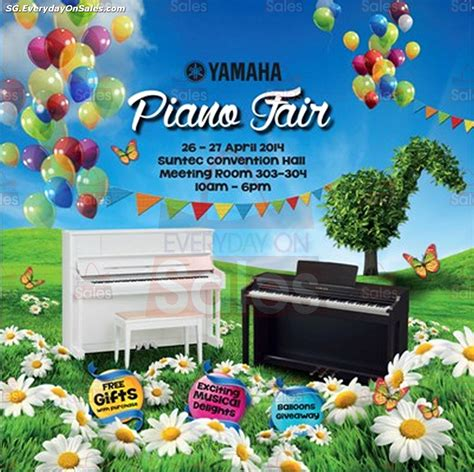 26 27 apr 2014 pureen stock clearance warehouse sale for baby 26 27 apr 2014 yamaha music singapore piano fair event at