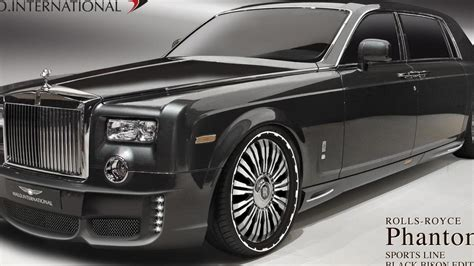 roll royce tuning rolls royce phantom tuning program by wald previewed