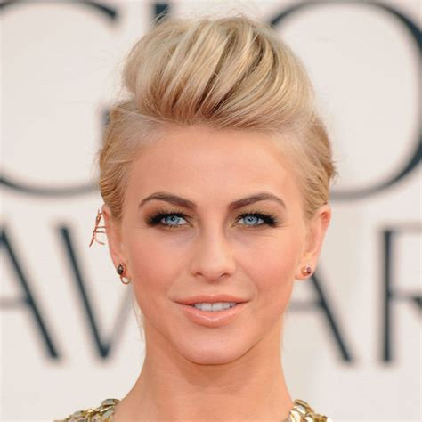 how does julienne hough style her hair julianne hough hairstyle 2013 golden globe awards