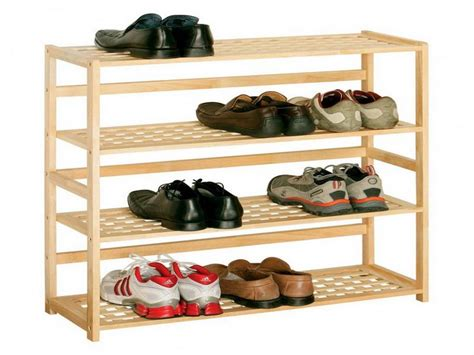 diy shoe rack design shoe rack plans diy woodideas
