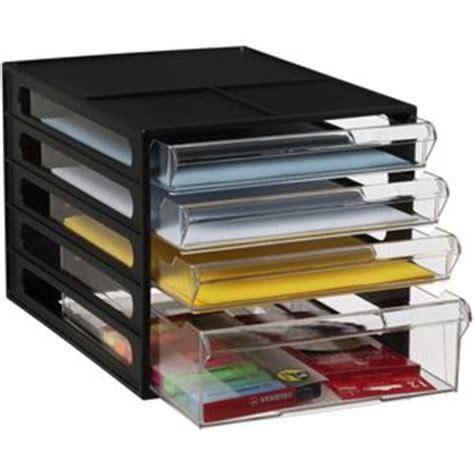 Document Drawers Storage by J Burrows Desktop File Storage Organiser 4 Drawer Black
