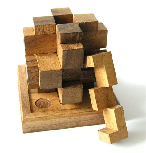 2 Set Woodem Puzzle Vegetanle And My Part mechanical puzzle