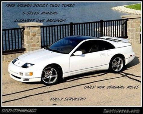 auto air conditioning repair 1995 nissan 300zx instrument cluster buy used 1995 nissan 300zx twin turbo white tan leather 5 spd manual t tops only 48k mls in