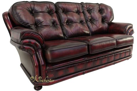 oxblood chesterfield couch chesterfield knightsbridge 3 seater settee traditional