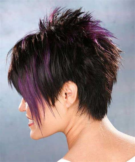 spikey choppy bob short razor spiky pixie hair hair styles pinterest