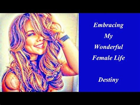 accepting my inner woman subliminal hypno hypnotic positive affirmations for transgender feminine