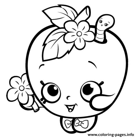 coloring pages of cute things cute things coloring pages shopkins download 5 shopkins