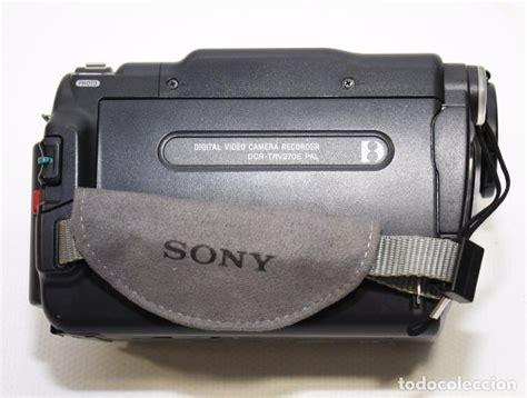 camaras de video segunda mano c 225 mara de video sony handycam dcr trv270e digit comprar