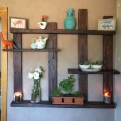 pallet shelf for wall decor
