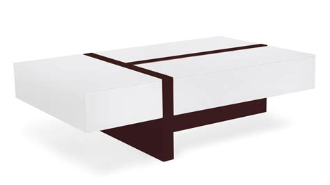 White Rectangular Coffee Table Mcintosh High Gloss Coffee Table With Storage White Rectangle Zuri Furniture
