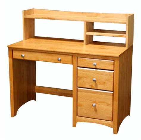 Student Desks With Hutch Alder Student Desk Hutch Archbold Furniture Wood Furniture Manufacturer Ohio