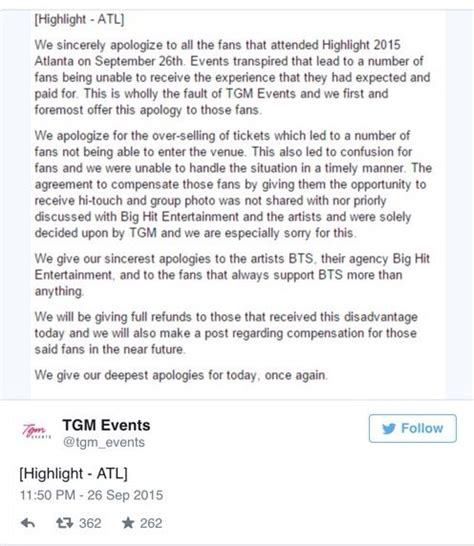 armys write touching letters to support bts after member bts highlight tour ends after disastrous tour management
