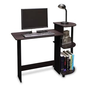 Computer Desk Simple by Simple Compact Computer Desk In Espresso Black Finish