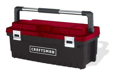 craftsman tool box craftsman 26 inch tool box with tray black