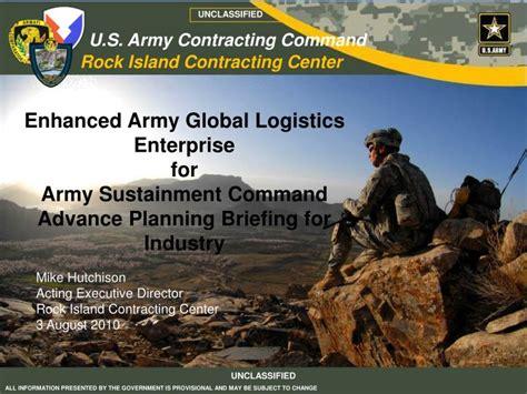 ppt enhanced army global logistics enterprise for army