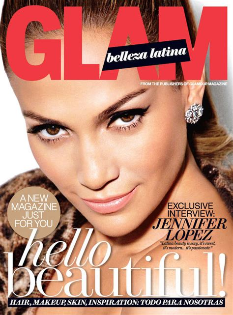 latinas lifestyle entertainment beauty fashion jennifer lopez covers the debut issue of glam belleza