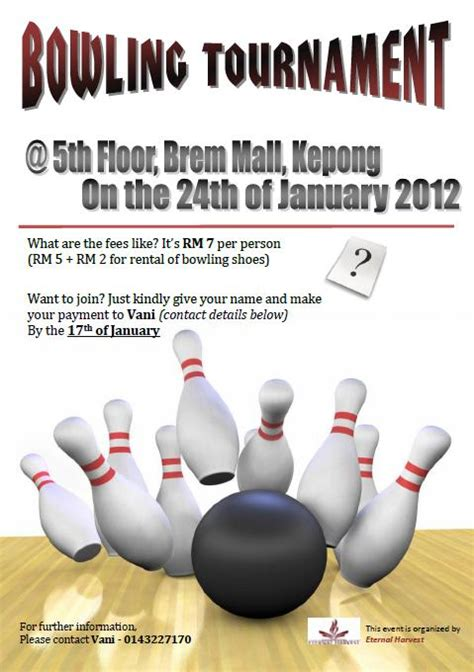 free bowling flyer template birthday coupon book templates book covers