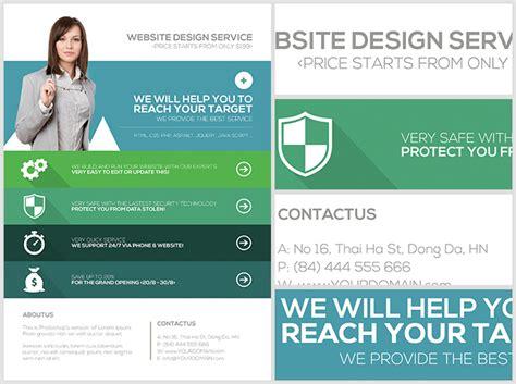 Flat Style Web Agency Flyer Template Flyerheroes Web Agency Template