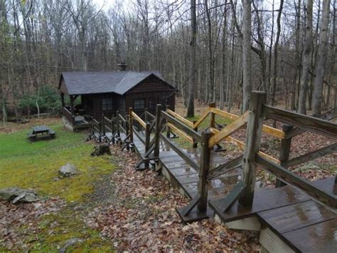 West Virginia State Parks Cabin Rentals by Scenic Overlook From Babcock State Park Picture Of
