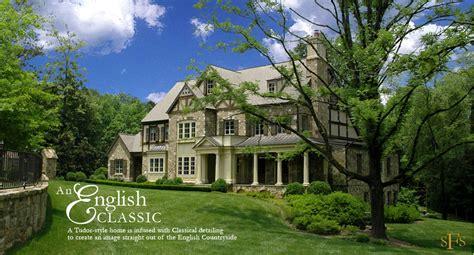 Tudor Revival Floor Plans by Stephen Fuller Designs English Classic