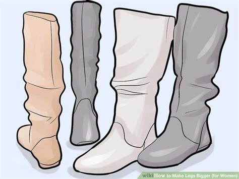 Ways To Make Your Legs Look Fuller by Expert Advice On How To Make Legs Bigger For Wikihow