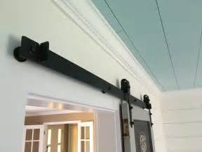 Faux Shiplap Ceiling Client Remodel Barn Door Hardware Faux Shiplap Walls And