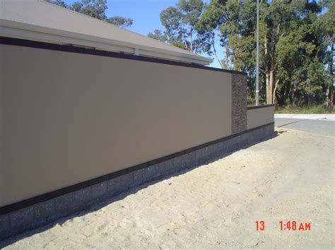 Wall Designs Ideas Brick Fencing Suburban Street Scapes