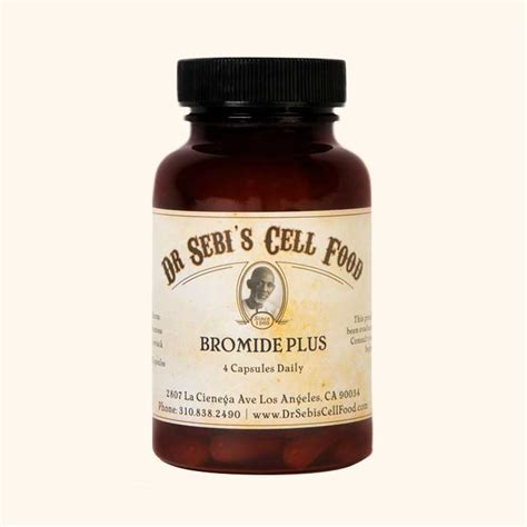 Bromide Detox How by Products Dr Sebi S Cell Food