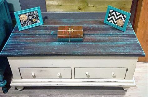 patina green  java coffee table general finishes