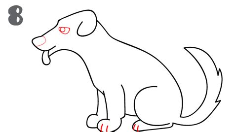 how to draw dogs how to draw a step by step