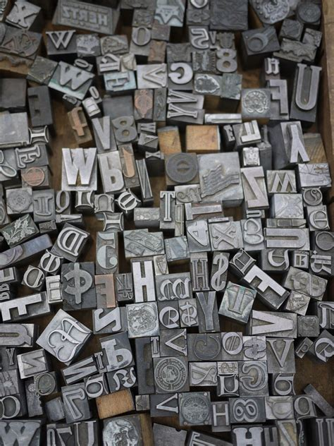 Letter Printer by Vintage Printing Blocks Bakelite Dice And More 171 Markets Of New York City