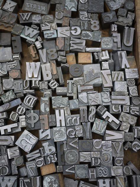 Letter Printer vintage printing blocks bakelite dice and more 171 markets of new york city