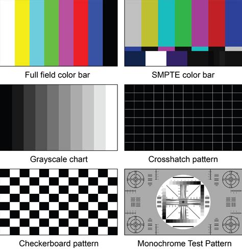 Test Pattern Lcd Tv | video test pattern generator hdtv lcd troubleshoot calibrate