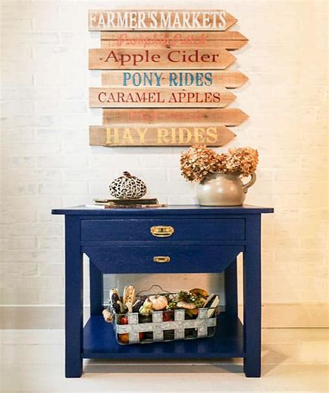timeless rolling kitchen island project by decoart classic table upcycle with satin enamels project by decoart