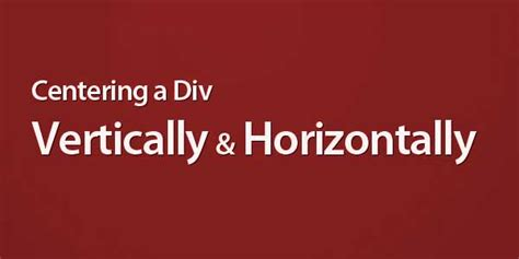 center a div horizontally how to center a div vertically and horizontally by valid