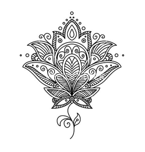 mandala tattoo racist persian paisley design vector art we heart it floral