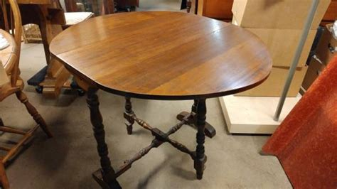Antique Mahogany Small Drop Leaf Dining Table Occasional Small Fold Away Dining Table