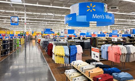 warehouse layout of walmart wal mart retail environment segd