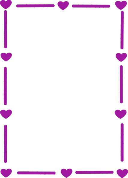 Bordir Purple purple border clip at clker vector clip royalty free domain