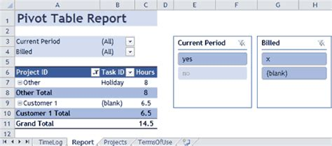 Time Tracking Template For Excel Access Time Tracking Template