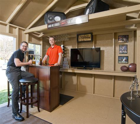 man caves sheds epic designs ideas backyard buildings