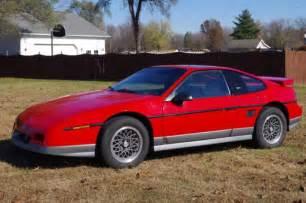 Pontiac Fiero Gt Fastback 1986 Pontiac Fiero Gt Fastback V6 No Reserve For Sale