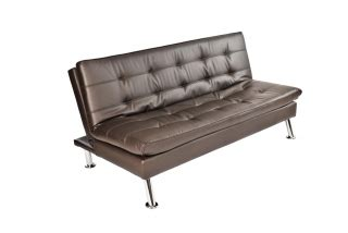 stowaway sleeper ottoman brown leather sleeper ottoman w pull out