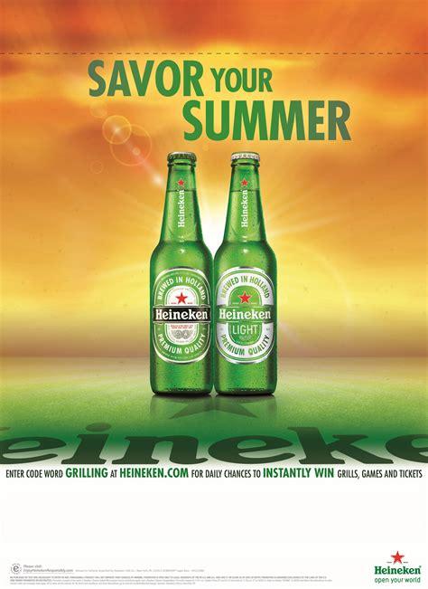 Heineken Features You As The by Heineken Unveils Savor Your Summer