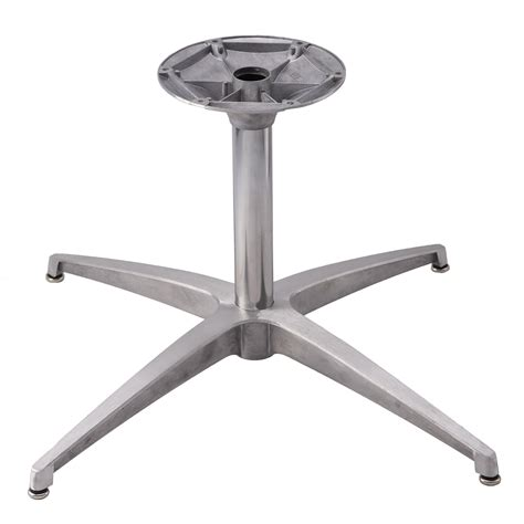 Aluminum Coffee Table Legs Ts28 Brushed Aluminum Ts Series Table Base Table Bases By Series Table Bases Tablebases