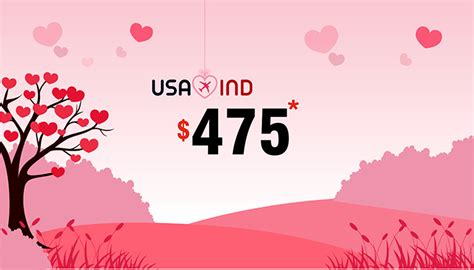 Valentines Day Prmotions Roundup by Day Travel Offers Usa To India Trip Deals