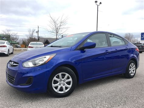 Lic Hyundai by Used 2014 Hyundai Accent Gl For Sale In Collingwood