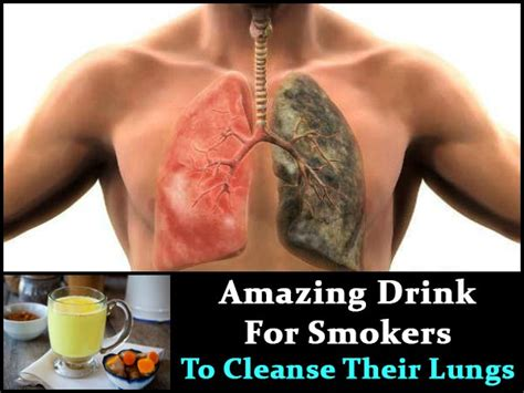 Lung Detox After by This Amazing Drink Helps Smokers To Cleanse Their Lungs